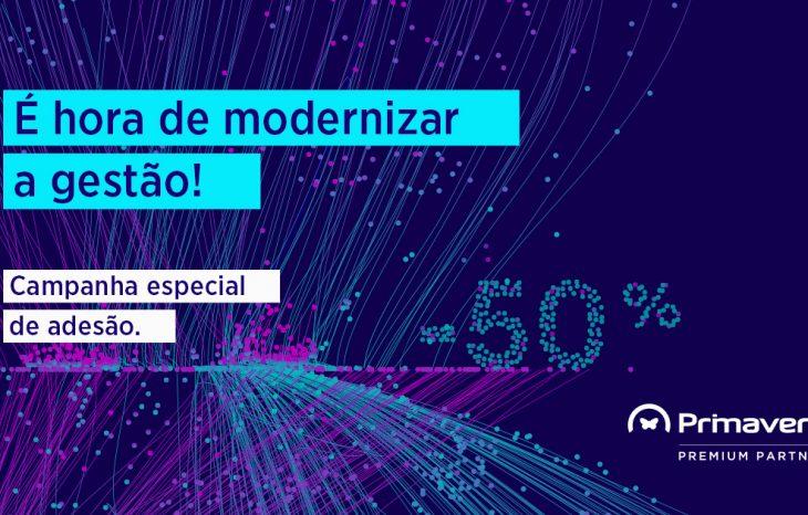 É hora de modernizar a gestão. Campanha especial de adesão (50%)!