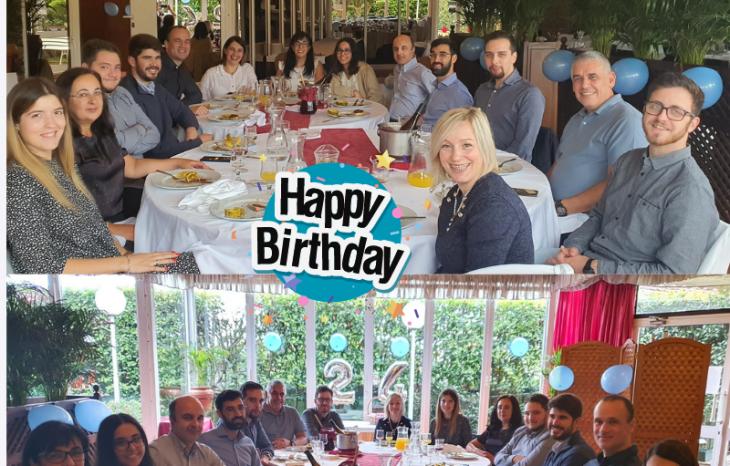 Este mês celebramos os nossos 24 anos!